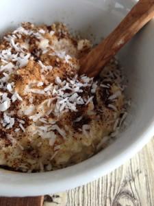 Kokos vanille ontbijt