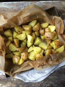 geroosterde aardappelen