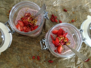 aardbeien chia